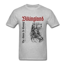 2017 Hot Cotton Crewneck Custom Short Sleeve Vikingland Viking Bear Soldier Vikings Men's Shirt Popular Resilient XXXL T Shirts