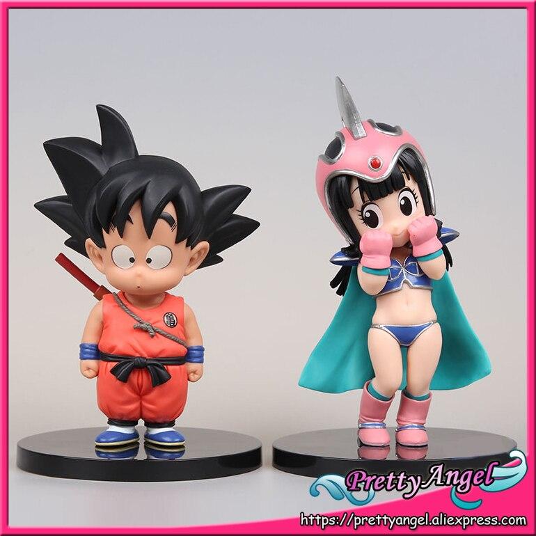 Japan Anime Original BANPRESTO DRAGONBALL COLLECTION Vol.3 Dragon Ball Toy Figures - Son Goku &amp; Chi Chi<br>