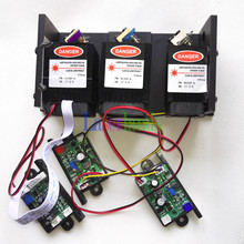 RGB White Mixed 900mW 1W Laser Module Green 100mW F/Blue 500mW F/ Red L 300mW Combined Laser Module TTL and Analog for option