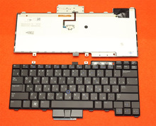 Brand New Russian  Keyboard FOR DELL E6400 E6410 M2400 E6500 M4500 M4400 RU laptop keyboard without Backlight