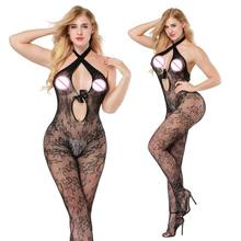 Buy Women Lenceria Sexy Lingerie Plus Size Hot Teddy Underwear Porn Babydoll Fishnet Erotic Dress Sex Costumes Erotica Mujer Sexi