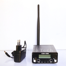 0.1W/ 0.5W CZE-05B FM transmitter stereo pll radio broadcast Rubber Ant PS Kit
