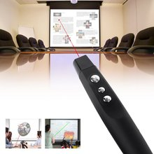 Wireless USB PPT Presenter PowerPoint Remote Control Presentation Pointer Sliver and Black