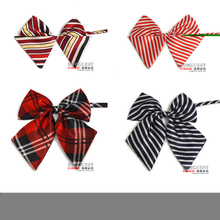 High quality airline stewardess lady bank bow tie collar fashion dress collar occupation female students
