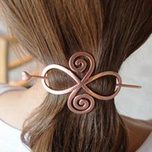 Women Hair Organize Tool Heart Star Geometry Hair Stick Sweet Lady Hair Decoration Chopsticks Hairpin Chignon Pin(China)