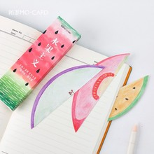 30pcs/pack Fresh Fruit Bookmark Paper Bookmarkers Promotional Gift Stationery Free Bookmarks For Books Book Marks