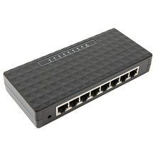 KEBETEME High speed 10/100/1000Mbps 8 Port Ethernet Network Switch Gigabit Switch Hub with EU/US Plug(China)