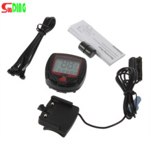 New Arrival Odometer Bike Meter Speedometer Digital LCD Bicycle Computer Clock Stopwatch(China)