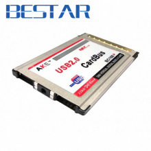 USB2.0 USB 2.0 2 Ports PCMCIA PC CardBus 54mm 54 mm Latop Notebook for NEC Chip insert type(China)