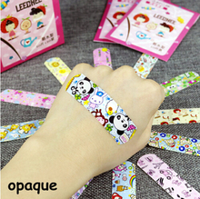 100pcs Cute Cartoon Waterproof Breathable Band Aid Hemostasis Adhesive Bandages First Aid Emergency Kit For Kids Children(China)