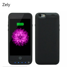 "Zely 3200mAh External Backup Battery Power banks Battery Charger Cover For iPhone 6 6S 4.7"" Power Case Mobile Phone Battery Case"