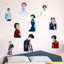 Korean Idol Group EXO LU HAN Wall Sticker Posters Gift Star Pictures Decal Home Decor DIY Vinyl Living Room Bedroom Mural(China)