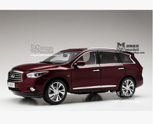 New INFINITI QX60 2014 1:18 origin car model alloy metal diecast Luxury SUV Limited Collection kid toy boy gift