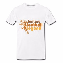 Tees Men'S Clothing Big Size:S-Xxl Retro Fantasy Footballer Legend Different Colours High Quality(China)