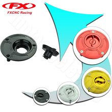 FXCNC CNC Aluminum Keyless Motorcycle Accessories Fuel Gas Tank Cap Cover For Yamaha FZ6 FZ6R FZ1 R1 R6 R6S All years(China)