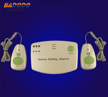 Home used wireless alarm for the elderly / maternal / patient help, 433MHZ Home care device (with 2 sos button)(China)