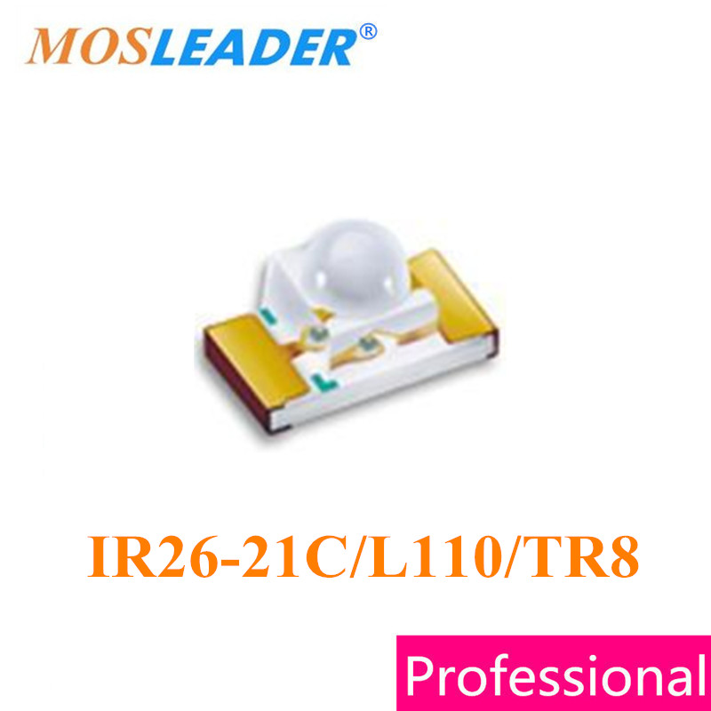 Mosleader 1206 IR26-21C/L110/TR8 500PCS 1500PCS 3216 1.6mm IR26-21C/L110 IR26-21C High quality <br>