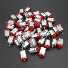 NEW 100 PCS Mini motors R130 motor Type 130 Hobby motor 8000 RPM  0.35-0.4A 3-6V 25* 15* 20mm*FD170X100