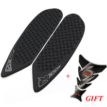 Anti Slip Tank Pad Protector Decal Gas Knee Grip Tank Traction Pads+ 1 Sticker For Suzuki GSXR600 GSXR750 GSXR 600 750 2006 2007(China)