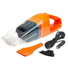 Brand New 100W Super Suction Mini 12V High-Power Wet and Dry Portable Handheld Car Vacuum Cleaner orange Color hot sale