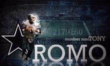 3x5ft dallas cowboys 9th Tony Romo wallpaper flag with gromments(China)
