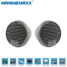"Waterproof Motorcycle Speakers Portable Quality 140W 3"" Heavy Duty Mini Marine Speakers for ATV UTV Tractor Boat Surface Mounted"