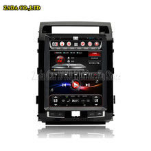 NAVITOPIA Quad Core 12.1inch Vertical Screen Android 4.4 Car Radio GPS for Toyota land Cruiser 200 2007-2011 2012 2013 2014 2015