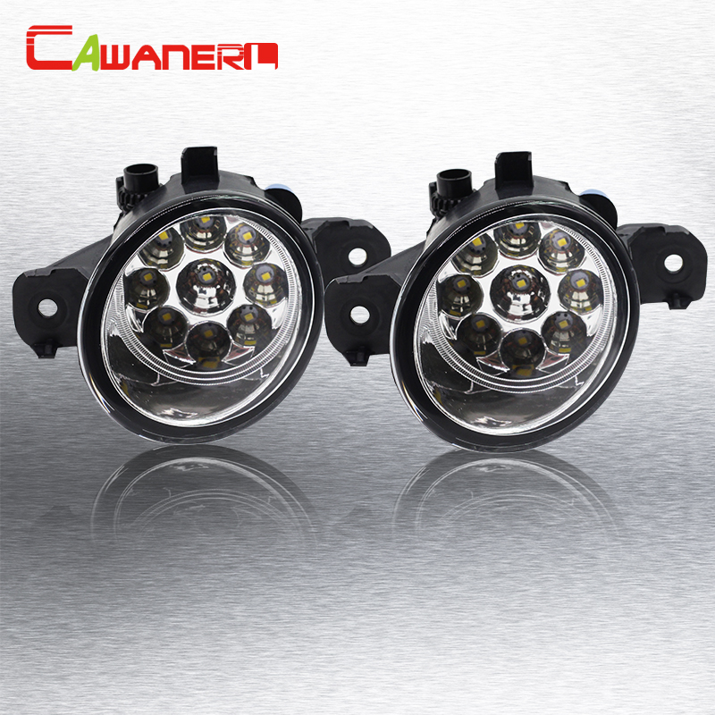 Cawanerl 2 X Car Styling LED Light Lamp Fog Light Daytime Running Light 12V For Renault Laguna II (BG0/1_) Hatchback 2001-2012<br>