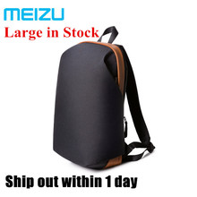 Black/Gray in stock Original Meizu backpack Women Men School Backpacks Large Capacity Students Bags Laptop game bag fast ship