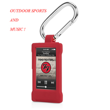 Outdoor Sports Multi-function High Quality Silicon Carabiner Case For iPod Nano7 Belt Clip With A Hook For Apple iPod Nano 7 7th(China)