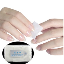Unique 900pcs/bag Lint Free Nail Art Wipe Pads Polish Gel Acrylic Tips Cotton Remover Cleaner Manicure Pedicure Tool