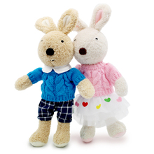 30cm le sucre bunny rabbit Plush dolls & stuffed toys hobbies korean classic baby kids toys for children girls Christmas gifts