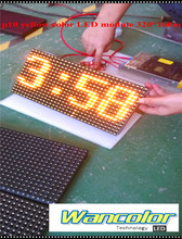 free shipping Factory Price Super Low Price p10 outdoor yellow color display Electronic LED Screen Panel Module 320*160mm