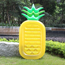 Hot selling Pizza Slice Pool Float Huge Floating Raft Swimming ring Pools Water Toy inflatable pineapple Pool Float DHL Free