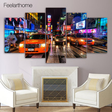 HD Printed new york nyc usa times square Painting children's room decor print poster picture canvas Free shipping/ny-2254(China)
