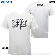 T Shirt Discount 100 % Cotton T Shirt For Men's Authentic Xyz Clothing Ozzy Logo White Skate T-shirt S-xl New(China)