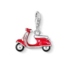 Italian Scooter Charms Pendant For Jewelry Making Thomas Style DIY Accessories European Gifts Fit Ts Bracelet Necklace Breloque