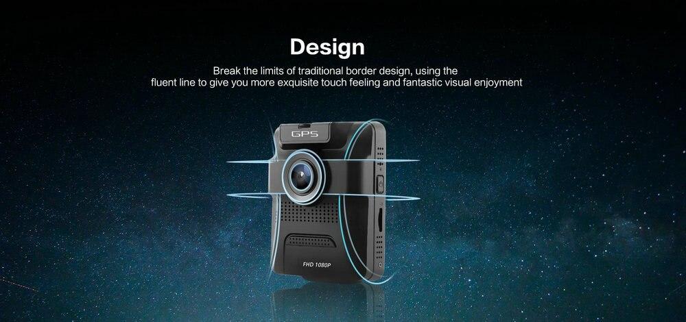 Azdome GS65H Mini Dual Lens Car DVR Camera 1080P Full HD Dash Cam Novatek 96655 Video Recorder G-sensor Night Vision 7