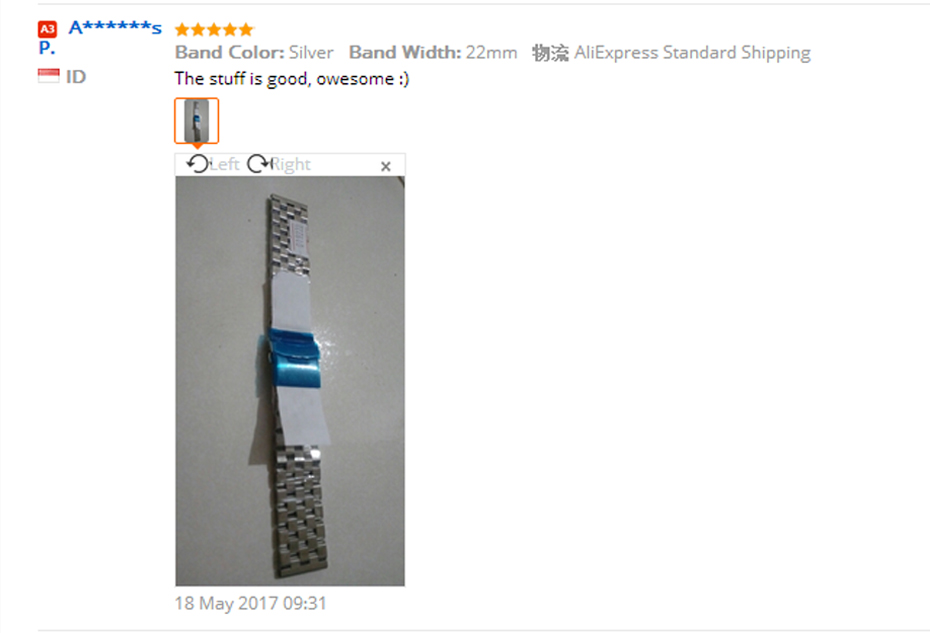 High Quality 2022mm SilverBlack Bracelet Men Women Watch Band Strap Cool Replacement Solid Link Stainless Steel Watchstrap (5)