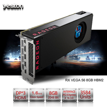 Buy Yeston Radeon RX VEGA 56 8GB HBM2 2048 bit Gaming Desktop computer PC Video Graphics Cards support PCI-E X16 3.0 HDMI/DP for $798.97 in AliExpress store