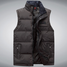 2017 Brand Men's Vest Jacket Coat Sleeveless Vests Homme Winter Casual Male Plus size 4XL Warm Jacket Vest Men Waistcoat