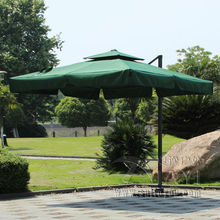 3*3 meter high quality deluxe roman umbrella patio umbrella garden umbrella parasol ( no stone base)