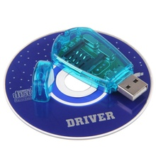 New Reader USB SIM Card Reader Simcard Writer/Copy/Cloner/Backup GSM CDMA WCDMA Cellphone DY-fly