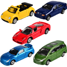 BOHS 5pcs, Alloy Luxury Convertible Car 1:64 Toy Cars Set Toys(China)