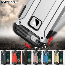 Armor Case for Samsung Galaxy S6 S7 edge S8 Plus Rugged Soft TPU Phone Back Cover for iPhone 5 5S SE 6 6S 7 Plus Slim Military