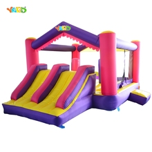 YARD Inflatable Obstacle Course Bounce House Jumping Bouncer Moonwalk Dual Side Jumper Outdoor Inflatable Toys