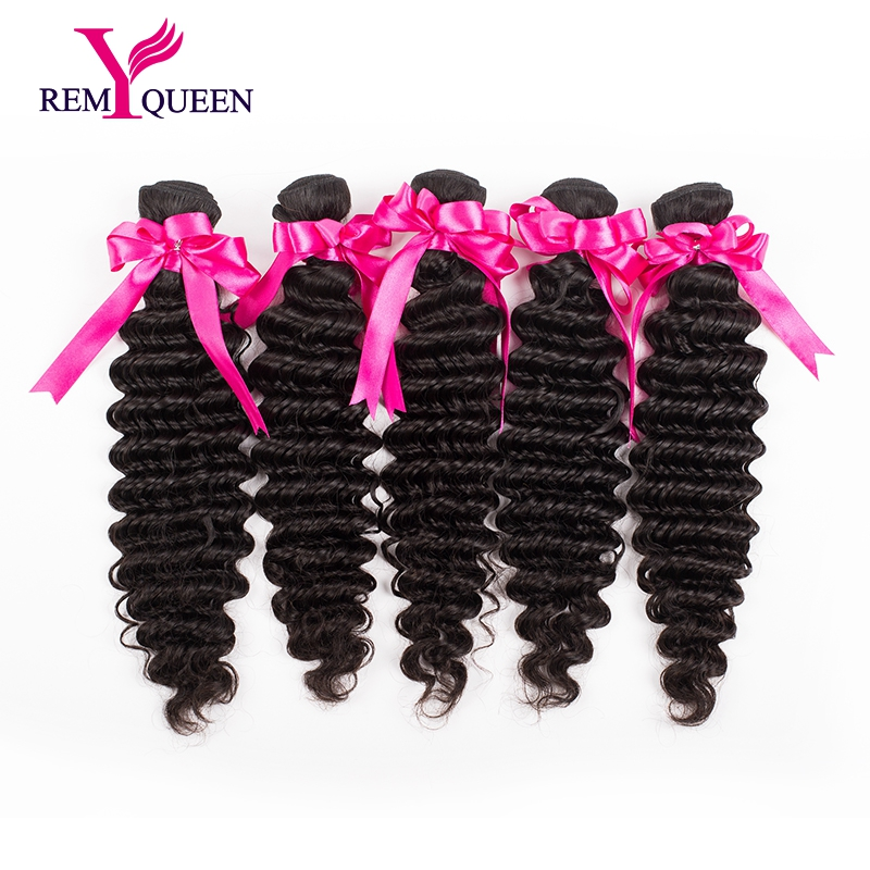 Unprocessed 10A Grade Brazilian Deep Curly Hair Brazilian Virgin Hair 5 Bundles 100% Human Hair Weaves Brazilian Deep Wave<br><br>Aliexpress