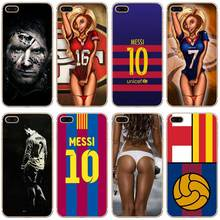 H521 Messi Football Style Transparent Hard Thin Case Cover For Apple iPhone 4 4S 5 5S SE 5C 6 6S 7 8 X Plus