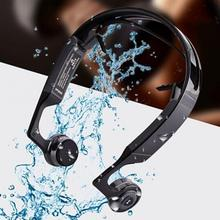 2017 New Popular Mix8 Bone Conduction Bluetooth Headset Fashion Outdoor Sports Wireless Smart Headphones for iphone Android(China)