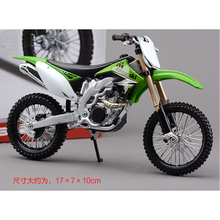 Kawasaki  KX450F Metal Kit Diecast Motorbike Model Maisto Assembly Toys  1:12 Scale Model Motorcycle Free shipping